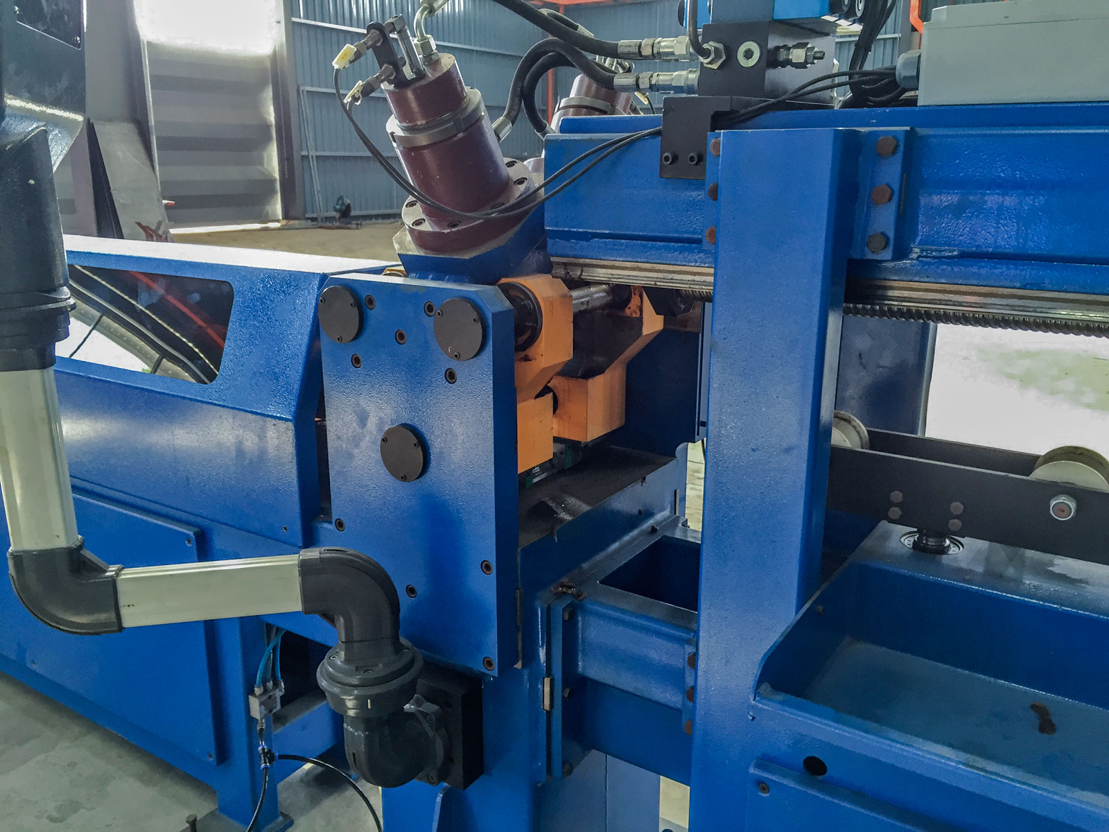 Pipe notching machine-3