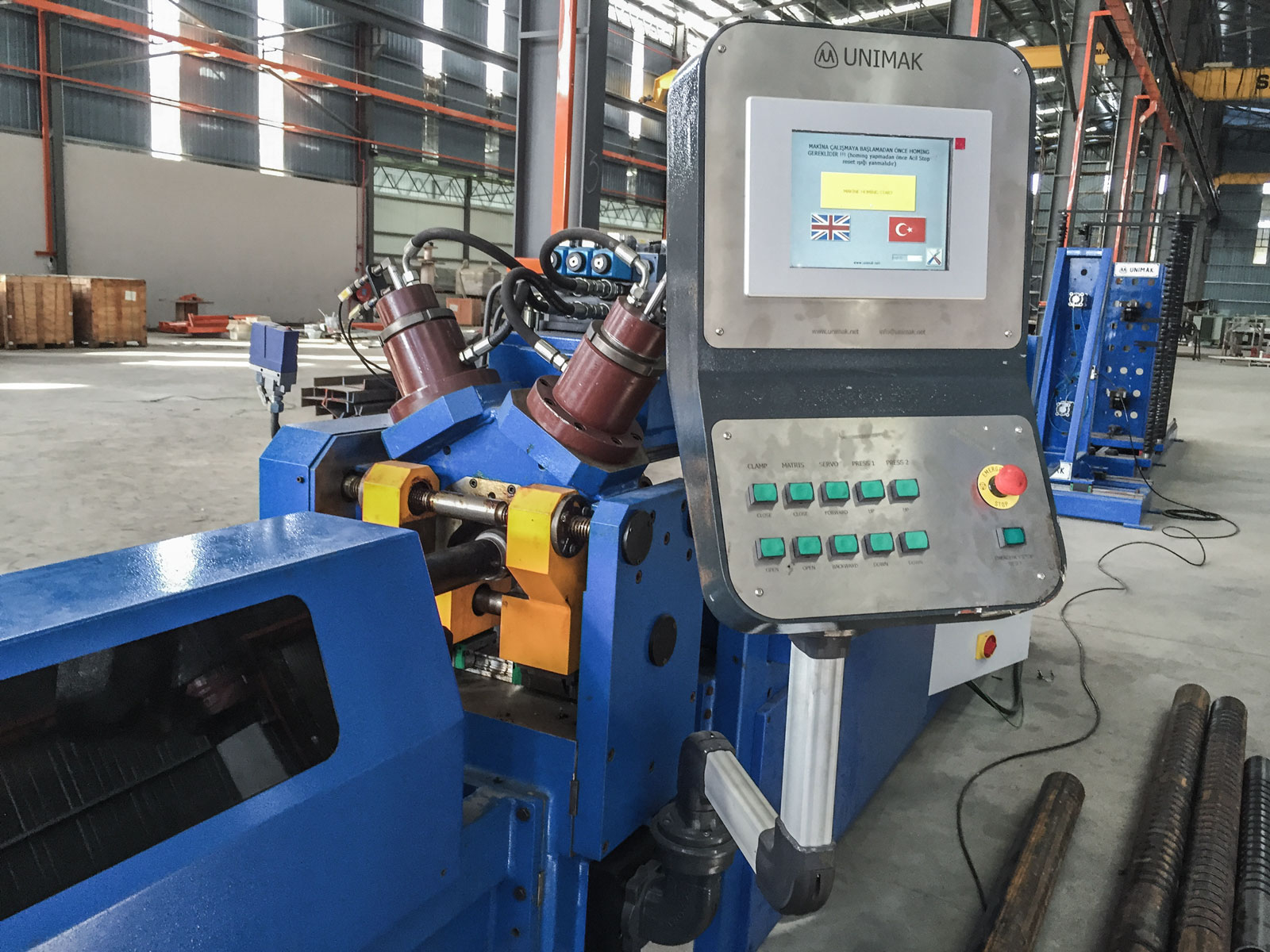 Pipe notching machine-4