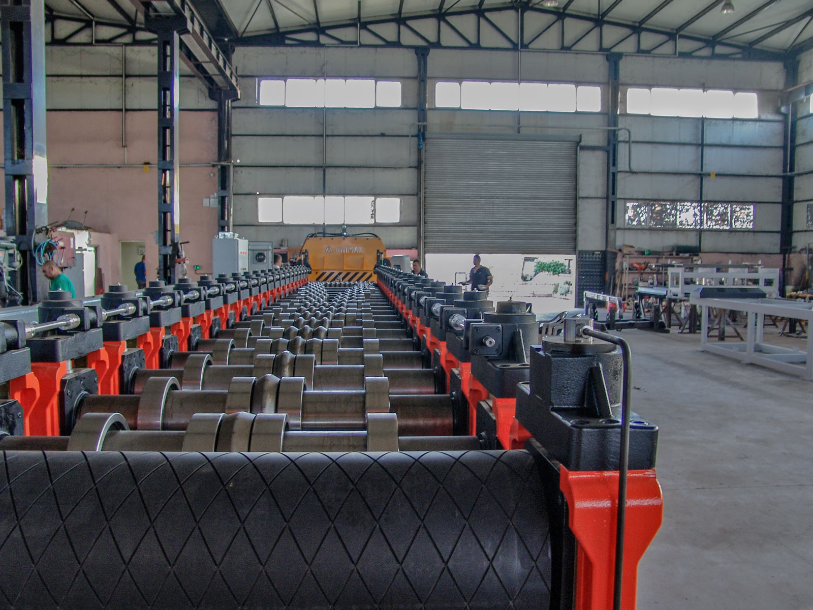 Silo sidewall production line-4