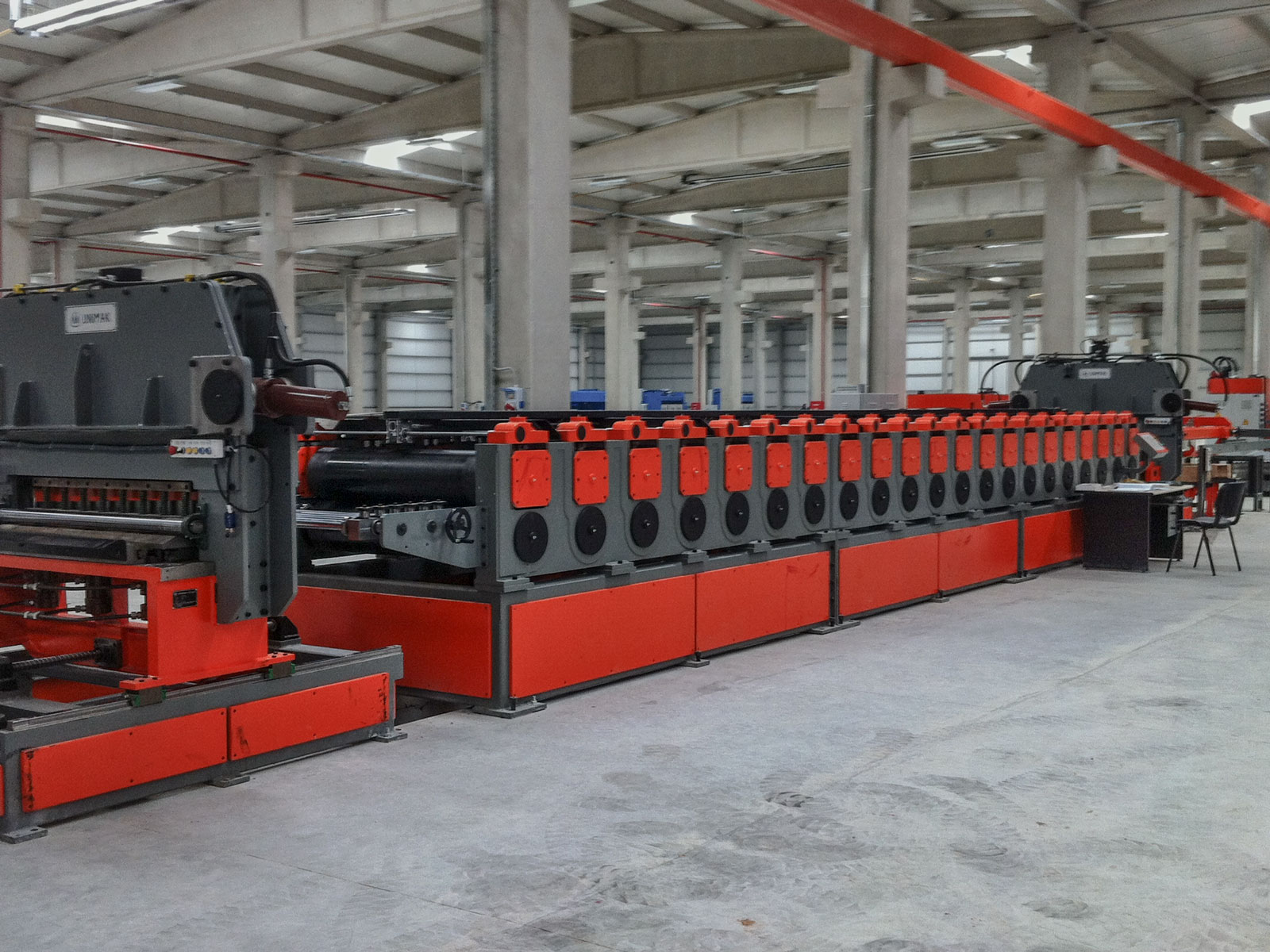 Silo sidewall production line-7