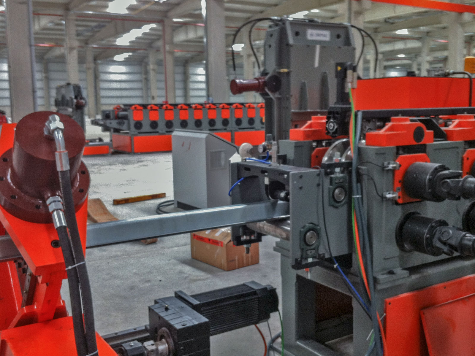 Silo stiffener production line-3